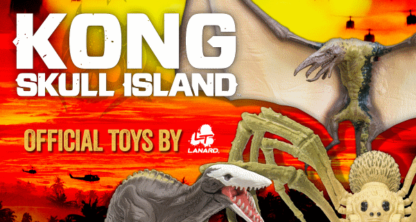 High quality Kong: Skull Island toy images!