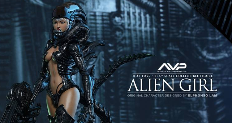 Hot Toys Reveal Alien Girl Collectible Figure!
