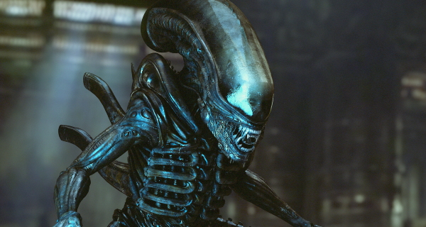 How did we miss this remarkable Alien model test footage?!
