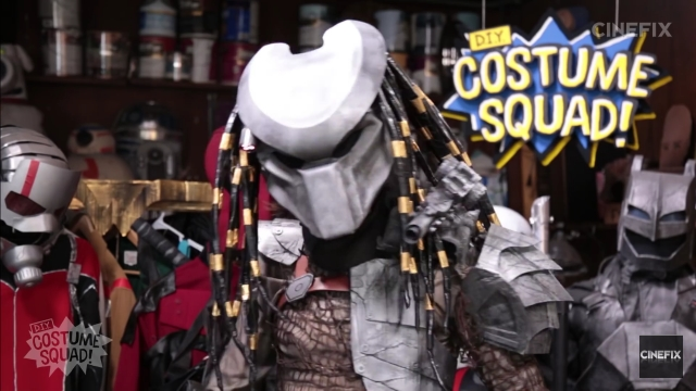 How to make your own Predator costume for Halloween while on a budget! & How to make your own Predator costume for Halloween while on a ...