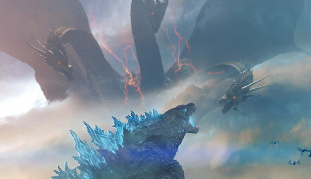 IMAX and RealD 3D release 2 new Godzilla: King of the Monsters movie posters!