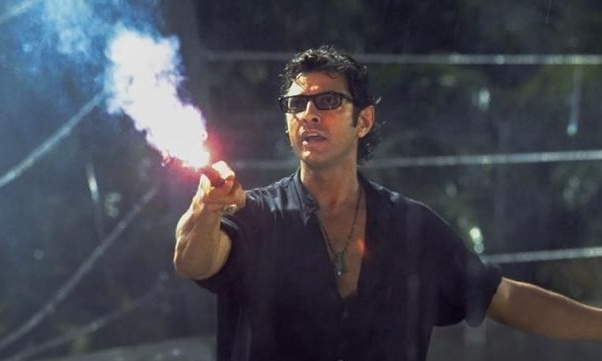 Jeff Goldblum says his role in Jurassic World 2 is a small one