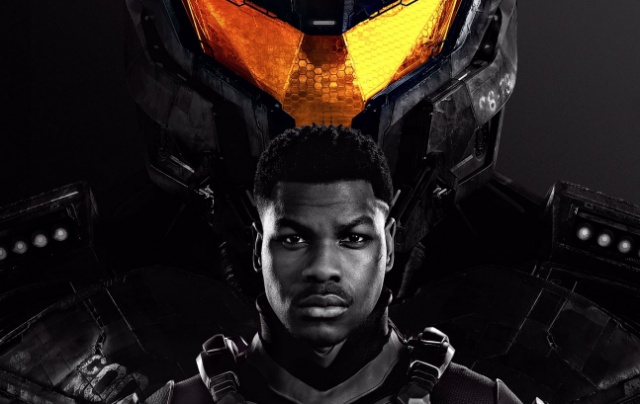 John Boyega debuts new official Pacific Rim Uprising movie poster!