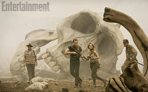 Jordan Vogt-Roberts says Kong: Skull Island will introduce the largest King Kong ever!
