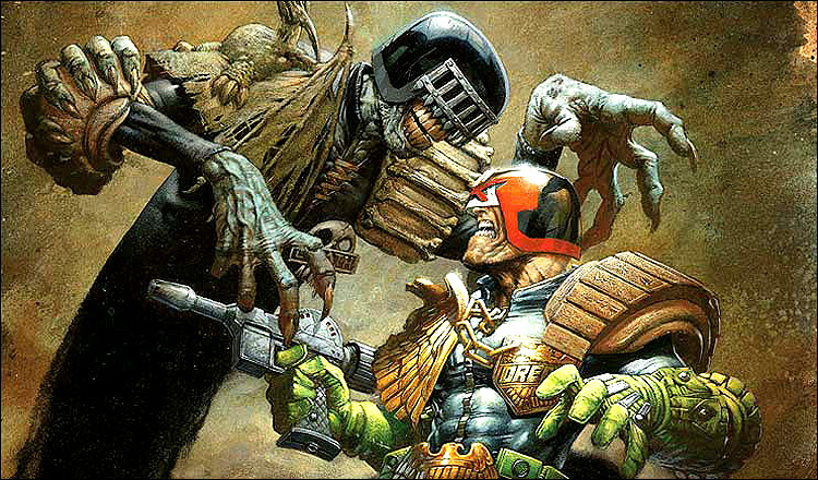 Judge Dredd Co-Creator John Wager Reveals That Fox Passed On A Spinoff Film Featuring Judge Death