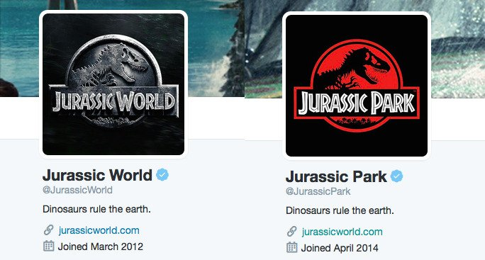 Official Jurassic Park channels tease new Logo and social media direction!