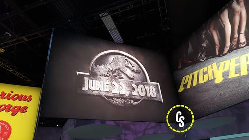 Jurassic World 2 is teased at Licensing Expo!