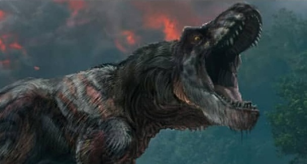 Jurassic World: Fallen Kingdom feathered T-Rex!