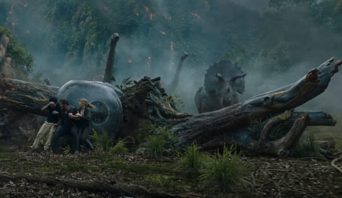 Jurassic World: Fallen Kingdom Official Movie Trailer Teaser Online!