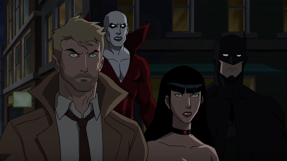 Justice League Dark Trailer Delivers R-Rated Animated Goodness