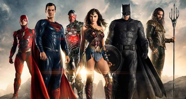 Justice League trailer straight from the SDCC!