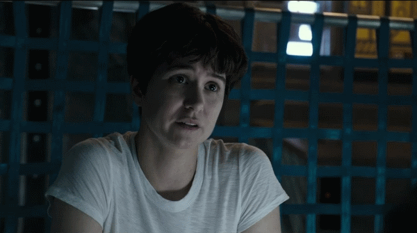 Katherine Waterston had a lot of fun doing her own stunts in Alien: Covenant