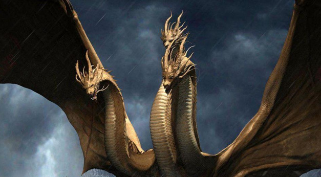 King Ghidorah arrives in Boston in latest Godzilla 2 movie clip!