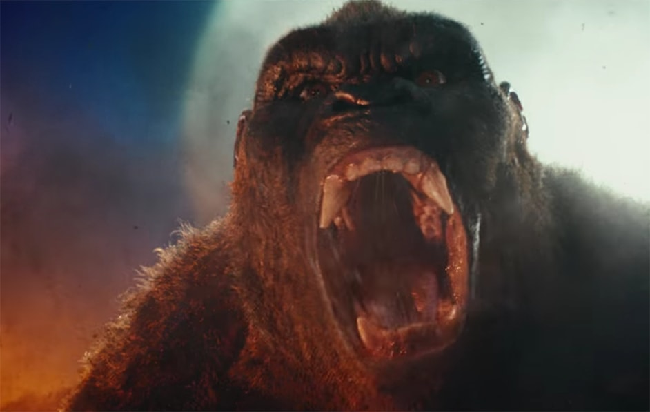 King Kong Stomping His Way Into The Lego Batman Movie