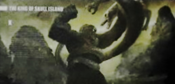 Kong battles a giant Skullcrawler in early preview for Kong: Skull Island Art Book!