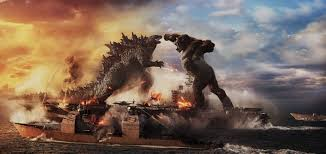 Kong fighting in the Hollow Earth concept art!