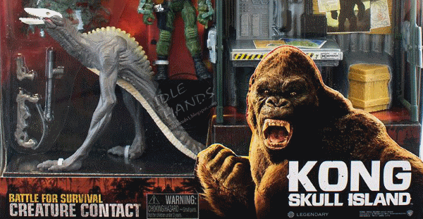 Kong: Skull Island toys introduce new Monsters from the film!