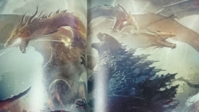 Leaked scans from The Art of Godzilla: King of the Monsters book!