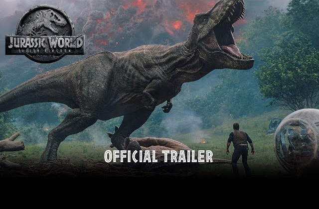 Life finds a way! Watch the official Jurassic World: Fallen Kingdom trailer NOW!