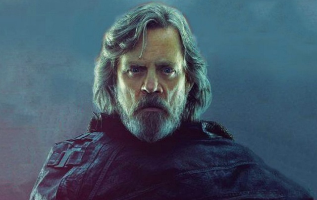 Luke Skywalker represents both the Light and Dark Side in new The Last Jedi marketing display!