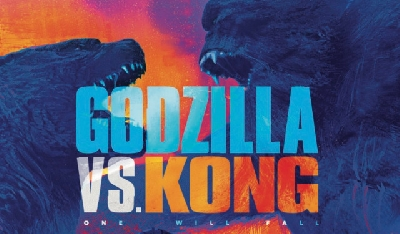 BREAKING: Godzilla vs. Kong (2020) tagline and banner displayed at Licensing Expo!