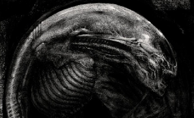 Dane Hallett and Matt Hatton's Alien Covenant: David's Drawings book now available!