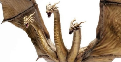 Epic New King Ghidorah (2019) Figure!