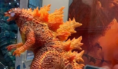 Fire Godzilla NECA figure revealed at SDCC 2019!