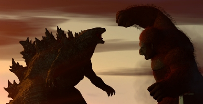 Godzilla vs. Kong aircraft carrier battle clear render from leaked footage!