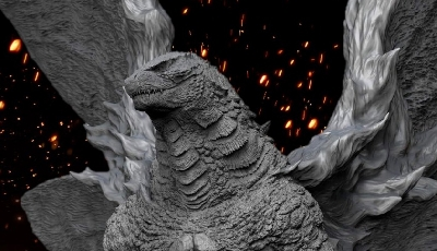 Incredible New Godzilla x Mothra Statue Revealed