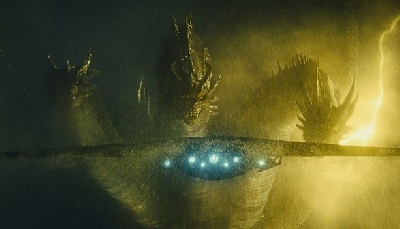 King Ghidorah looks menacing in new Godzilla 2 movie still!