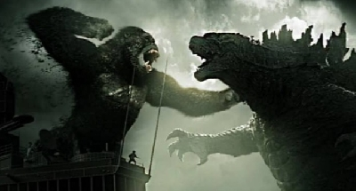 Kong Shows Off His New Weapon for Godzilla vs. Kong (2021)