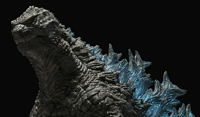 Legendary Godzilla redesign by UEzilla blends old with the new!