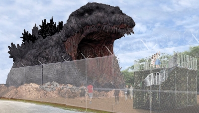 Life-Sized Godzilla Attraction Hitting Japan Next Summer