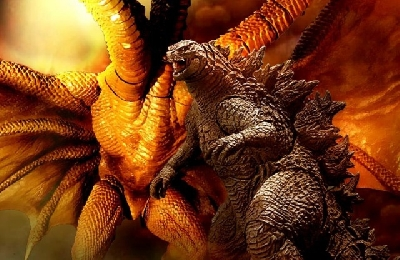 Monsterverse King Ghidorah dwarfs Godzilla and other Monsters in the new movie!