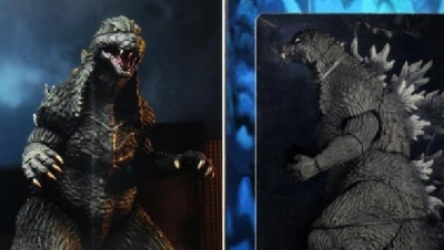 NECA Godzilla 2003 Packaging Revealed