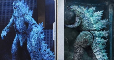 NECA unveil Godzilla 2019 V2 figure images!