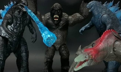 New Godzilla vs. Kong (2021) Figures Revealed