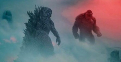 New Godzilla vs. Kong Poster Shows Titans Towering Over an Entire City