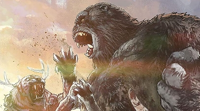 New Godzilla vs. Kong Prequel Graphic Novel Images Released