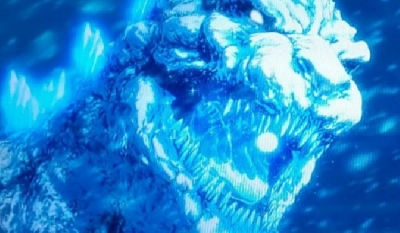 New Image of Snow Godzilla Revealed