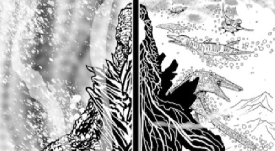 New Images of Godzilla from Godzilla vs. Kong Graphic Novel