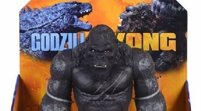 New Images of Godzilla vs. Kong Figures Revealed