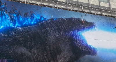 New marketing billboard for Godzilla: King of the Monsters (2019) spotted!