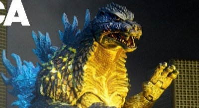 New NECA Godzilla 1989 and 2002 HD Images