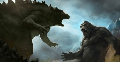 New Official Godzilla vs. Kong (2021) Artwork Revealed
