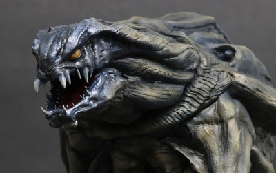 New X-Plus Godzilla Orga figure images (designed by Dopepope)