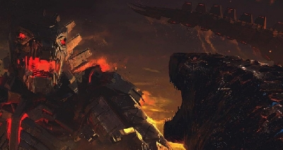 Official Godzilla vs. Mechagodzilla concept art and early key art from GvK!