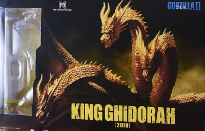 Official packaging & promo photos for S.H. MonsterArts Monsterverse King Ghidorah!