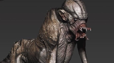 Predator Monkey: Unused concept from The Predator (2018)